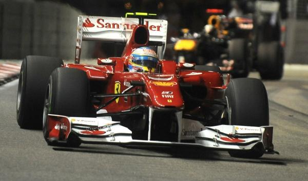 F. Alonso/S. Vettel-GP Singapur 2010