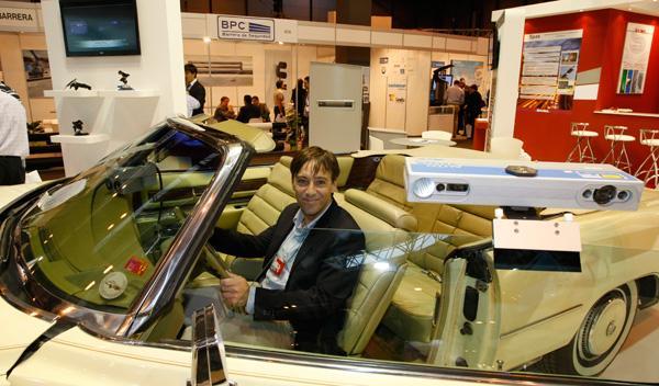 Cinemómetro, radar y control de Saima Seguridad Trafic 2011