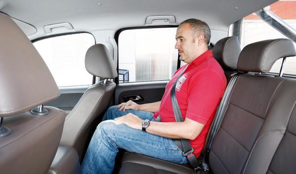 Volkswagen Amarok trendline asientos