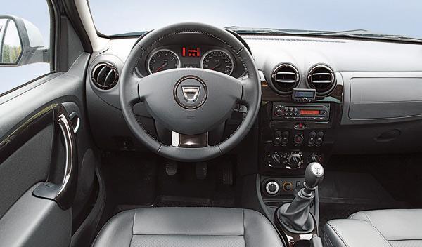 Dacia Duster laureate mandos