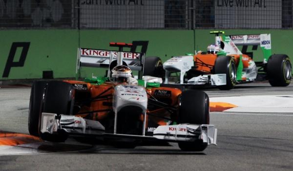 A. Sutil/P. di Resta-Force India