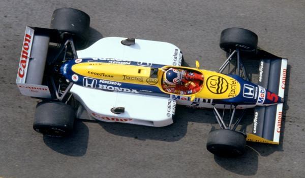 Nigel Mansell-Williams-GP Japón 1987