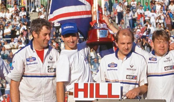 Damon Hill-Williams-GP Japón 1996