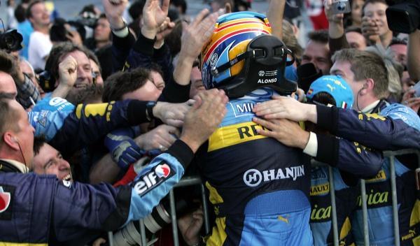 F. Alonso/Renault-GP Japón 2006