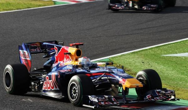 S. Vettel/Red Bull-GP Japón 2010