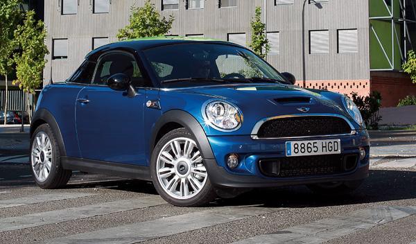 Mini Coupé Cooper SD delantera