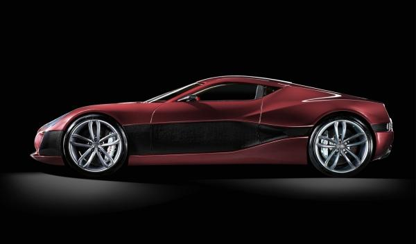 Rimac Concept_One Lateral