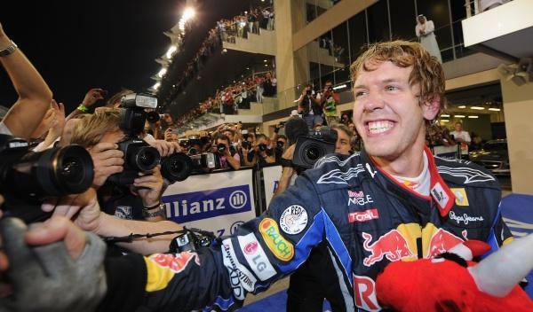 Sebastian Vettel-GP Abu Dhabi 2010