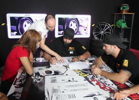 MTV Tuning España: Sala de reuniones