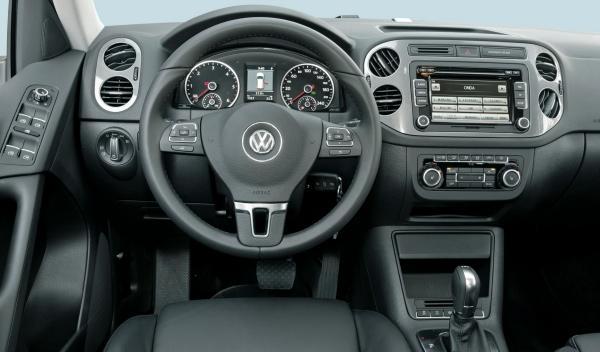 Volkswagen Tiguan Bluemotion mandos