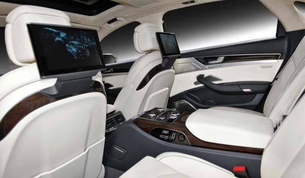 Asientos del Audi A8 L W12 Exclusive Concept