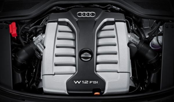 Motor W12 TFSI