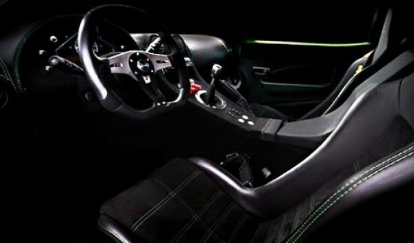 Interior del customGT