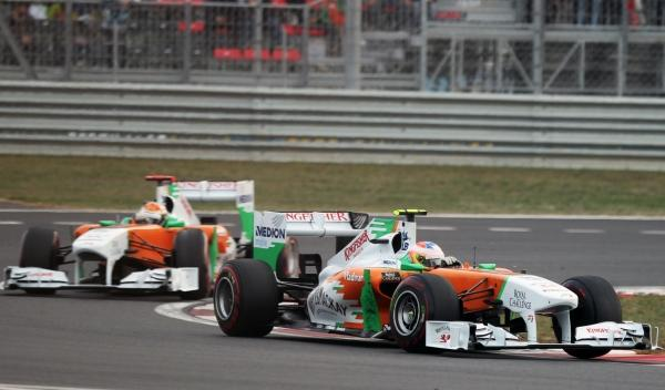 P. di Resta/A. Sutil-Force India