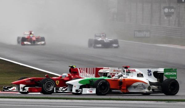 Alonso/Sutil-GP China 2010