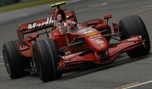 Kimi Räikkönen-GP China 2007
