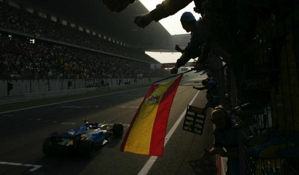Fernando Alonso-GP China 2005