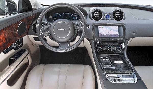 Interior del Jaguar XJ