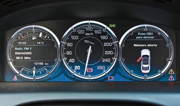 Relojes del Jaguar XJ
