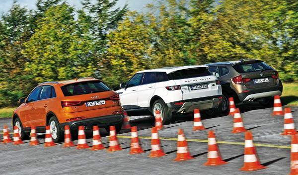 audi q3 bmw x1 range rover tdi motor