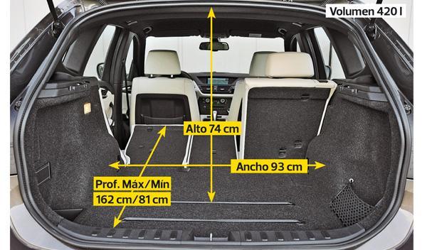 bmw x1 maletero modularidad
