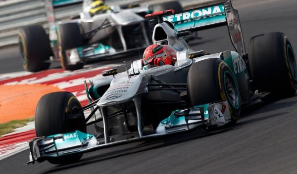 Michael Schumacher-Nico Rosberg/Mercedes