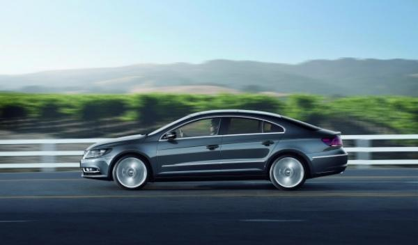 Lateral Volkswagen CC