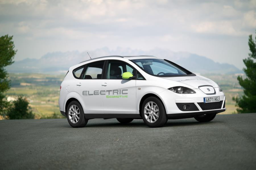 Seat Altea XL Electric Ecomotive lateral
