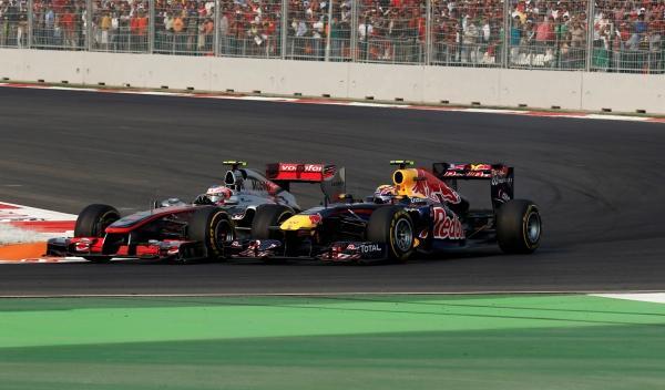 J. Button-McLaren/M. Webber-Red Bull