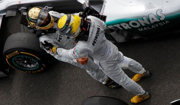 M. Schumacher-N. Rosberg/Mercedes