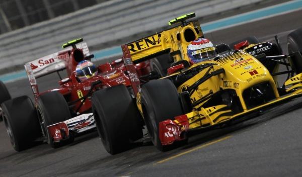 V. Petrov-F. Alonso/GP Abu Dabi 2010
