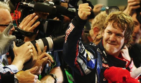 S. Vettel-GP Abu Dabi 2010