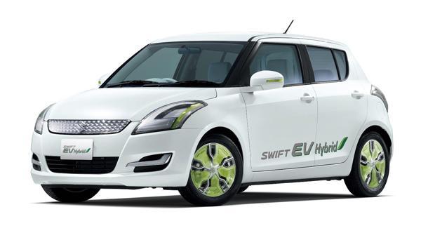 Suzuki Swift EV Hybrid frontal Salón de Tokio 2011