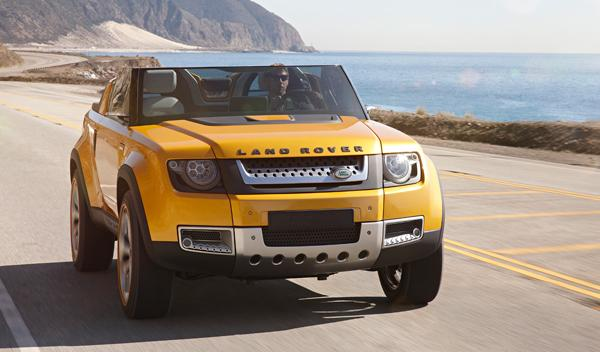 Land Rover DC100 Sport frontal
