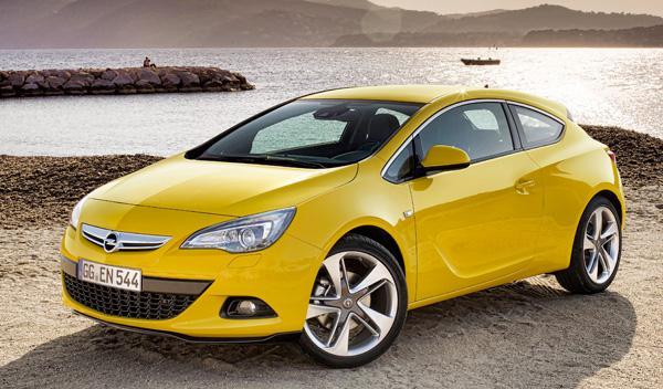 Delantera Opel Astra GTC