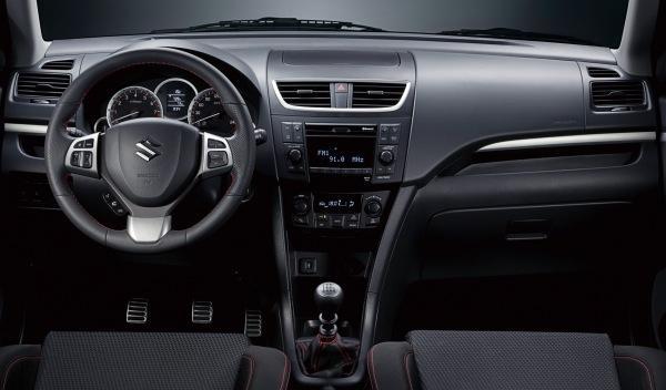 Suzuki Swift Sport cuadro
