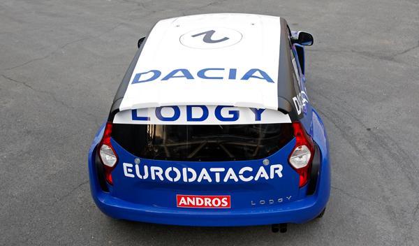 Dacia Lodgy 'Hielo' trasera