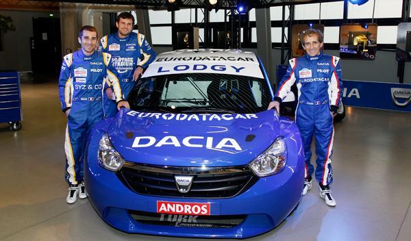 Dacia Lodgy 'Hielo' frontal