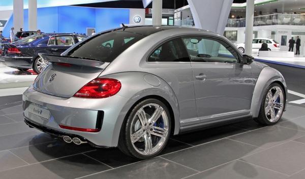Trasera del Volkswagen Beetle R Concept