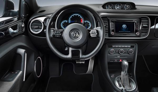 Interior del Volkswagen Beetle R Concept