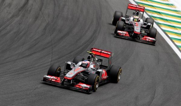 J. Button-L. Hamilton/McLaren