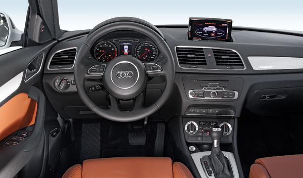 Audi Q3 salpicadero