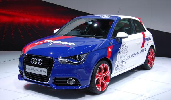 Audi Samurai frontal. Salón de Tokio 2011