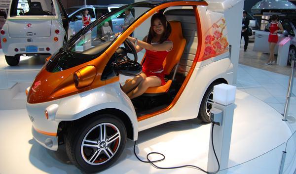 Coche individual eléctrico. Salón de Tokio 2011
