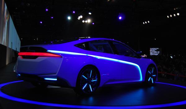 Honda AC-X lateral. Salón de Tokio 2011