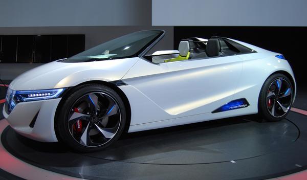Honda ev-ster lateral. Salón de Tokio 2011