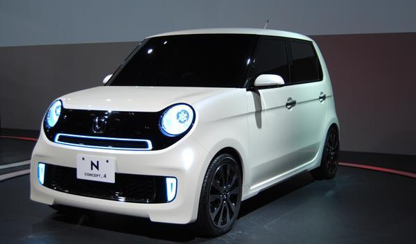 Honda N Concept frontal. Salón de Tokio 2011