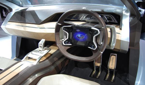 Interior concept Subaru. Salón de Tokio 2011