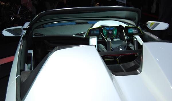 Honda ev-ster interior. Salón de Tokio 2011