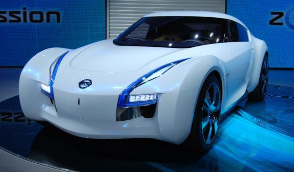 Nissan Esflow frontal. Salón de Tokio 2011